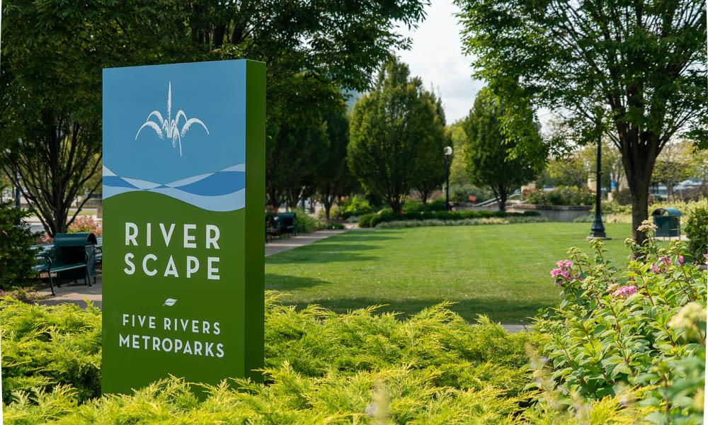 River Scape Five Rivers Metroparks