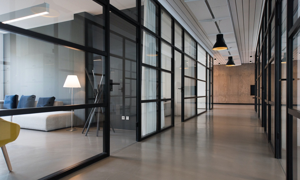 a commcercial real estate building
