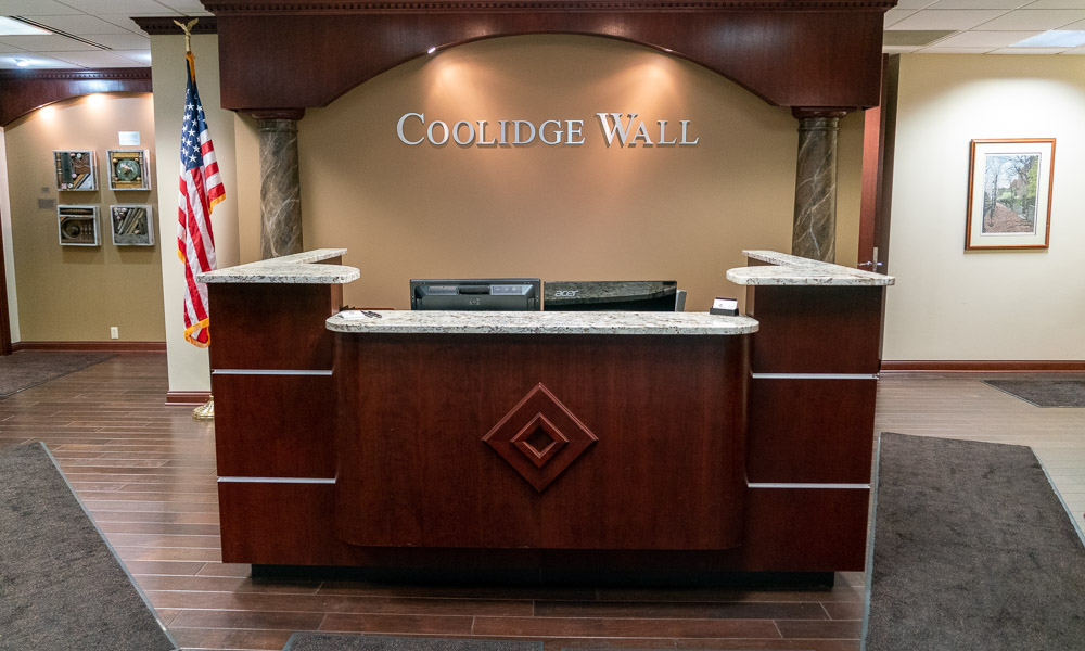 Coolidge Wall Front Desk