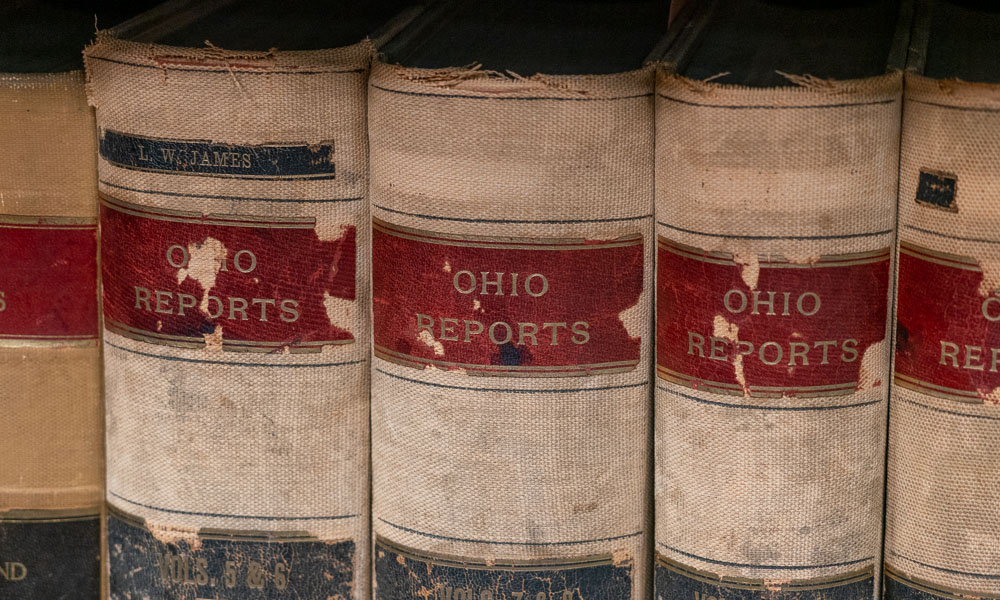 Old Ohio Reports Books